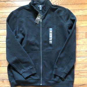Men's crew neck Calvin Klein fleece jacket